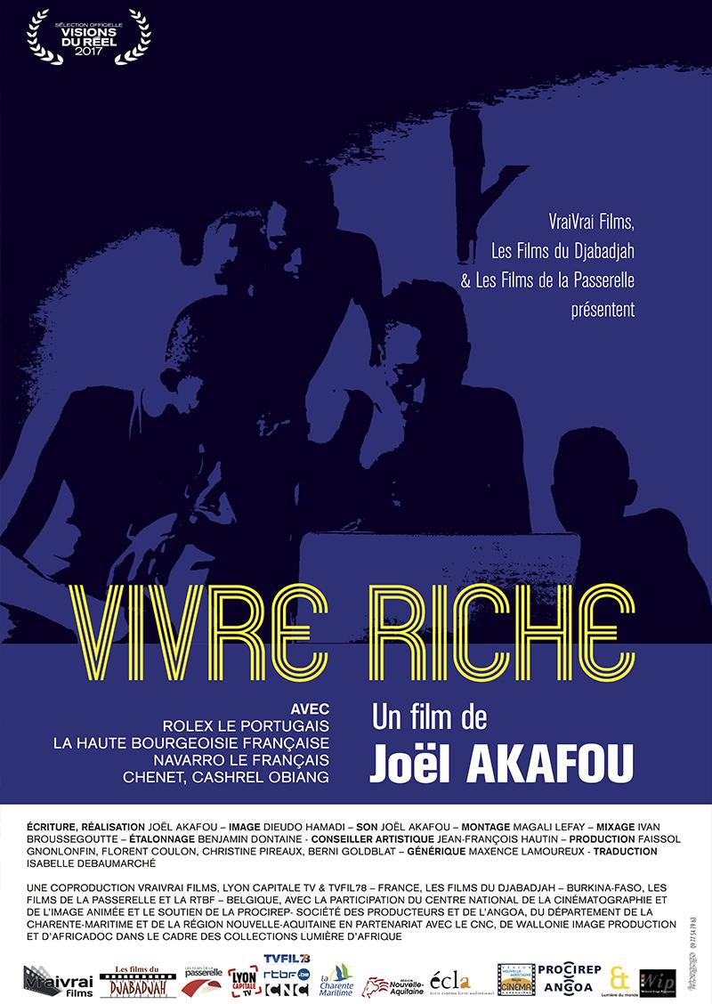 AFFICHE - Vivre Riche